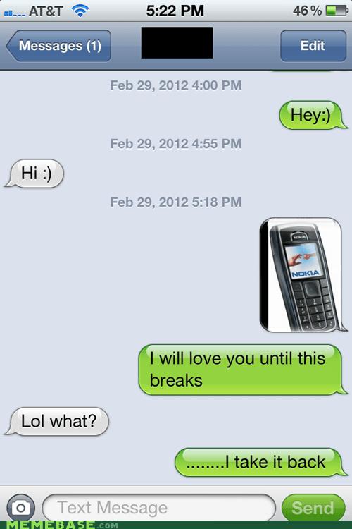 nokia sms text