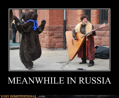 hilarious Meanwhile russia wtf - 5913463552