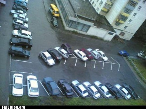 cars parking wtf