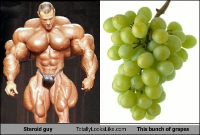 food funny grapes Hall of Fame steroid guy TLL - 5913675776