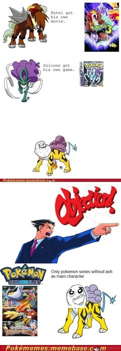 comic legendary trios objection Pokémon Rage Comics raikou suicine - 5913920000