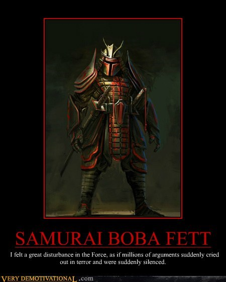 boba fett Pure Awesome samurai star wars - 5913966080