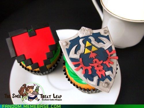 cupcakes Fan Art legend of zelda noms video games - 5914100224
