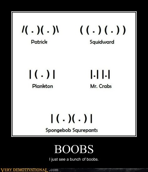 bewbs eyes hilarious SpongeBob SquarePants wtf