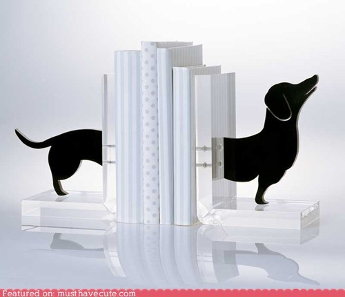 bookends dachshund dogs wiener dog - 5914918912