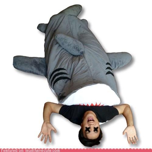 bedding eat shark - 5915044352