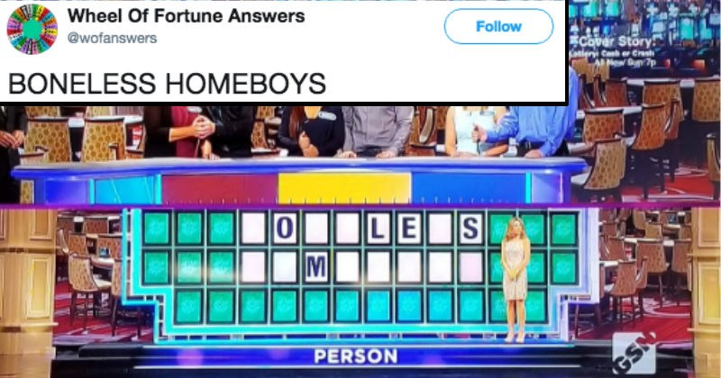 answers twitter wheel of fortune jokes funny - 5915653
