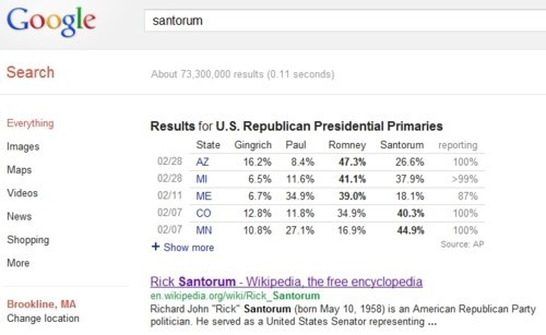 End Of An Era Google Problem Rick Santorum spreading santorum - 5916001280