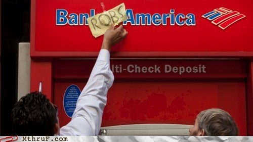 ATM bank of america bank robs robs - 5916037120