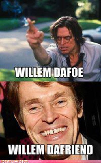 actor,celeb,funny,Hall of Fame,pun,Willem Dafoe