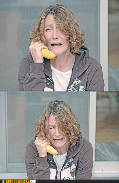 banana banana phone upset wtf - 5916392448