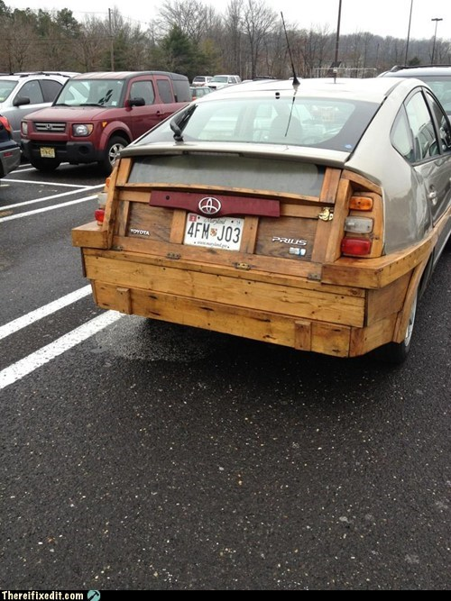bumper,Hall of Fame,Prius,wood