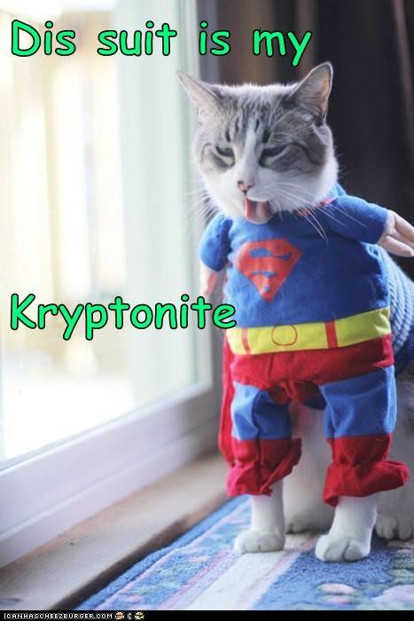 Dis suit is my Kryptonite