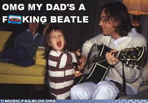 john lennon parenting Sean Lennon the Beatles yoko ono