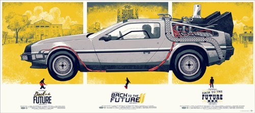 back to the future DeLorean mondo movies posters - 5916732416