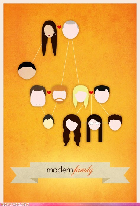 art funny illustration Modern Family TV - 5916968704