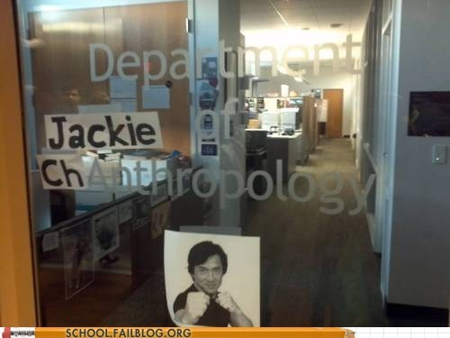 anthropology hacked Jackie Chan so punny - 5917154816