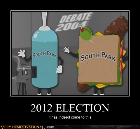 2012 election hilarious South Park - 5917332992