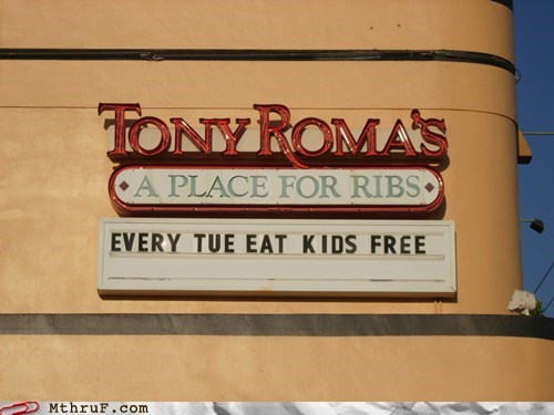 children eat free kids tony-romas - 5917392640
