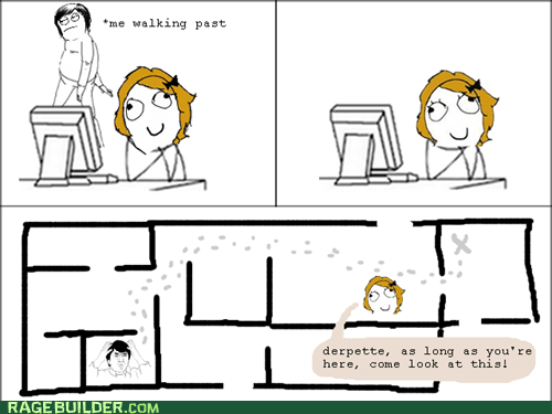 map,Rage Comics,walking,wtf