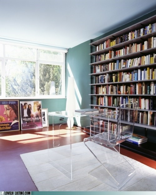 bookcase lucite wall window - 5917426688