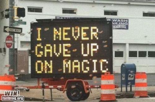 billboard hack magic sign - 5917674496
