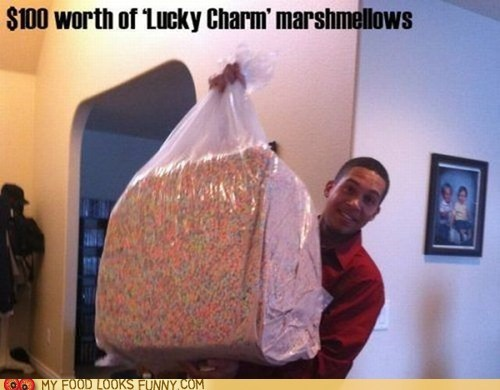 100 lucky charms marshmallows sugar unhealthy - 5917688320