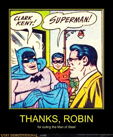 batman Clark Kent jerk robin Super-Lols superman - 5917702912