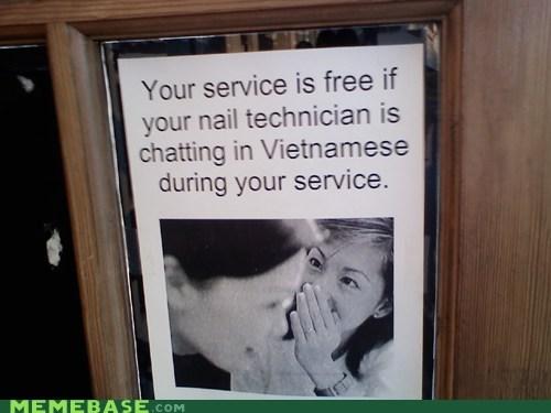 nail,seems legit,technician,vietnamese