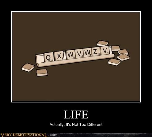 letters life Sad scrabble wtf - 5917783808