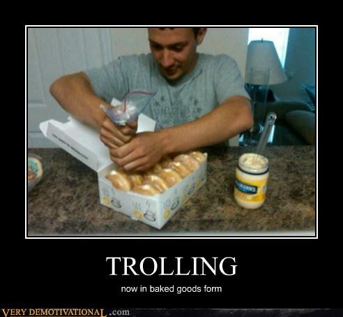doughnuts eww hilarious mayo trolling - 5918160384