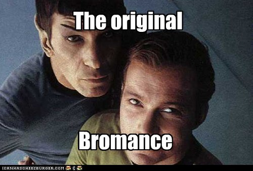 bromance,Captain Kirk,Leonard Nimoy,original,Shatnerday,Spock,Star Trek,William Shatner