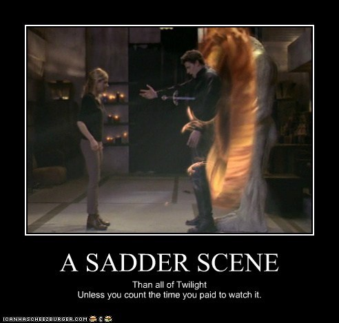 angel Buffy Buffy the Vampire Slayer David Boreanaz Death Sad Sarah Michelle Gellar scene - 5918648576