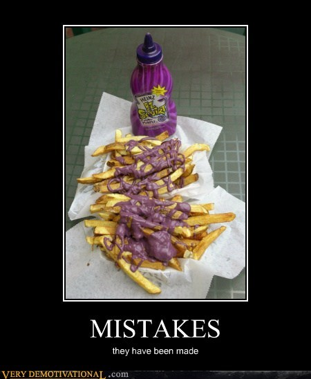 eww hilarious ketchup mistakes purple - 5918712832