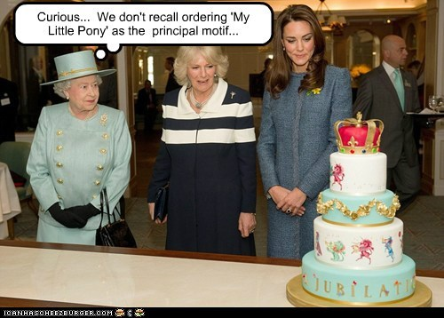 diamond jubilee my little pony political picture Queen Elizabeth II s bornies - 5918916352