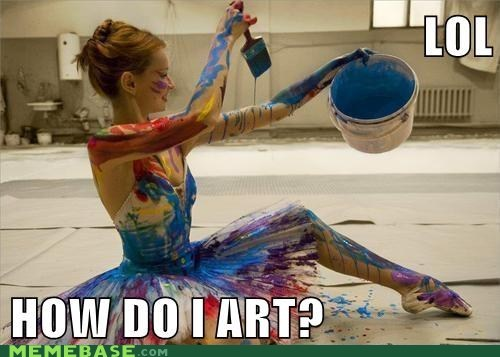 art,ballerina,lol,Memes,paint,what