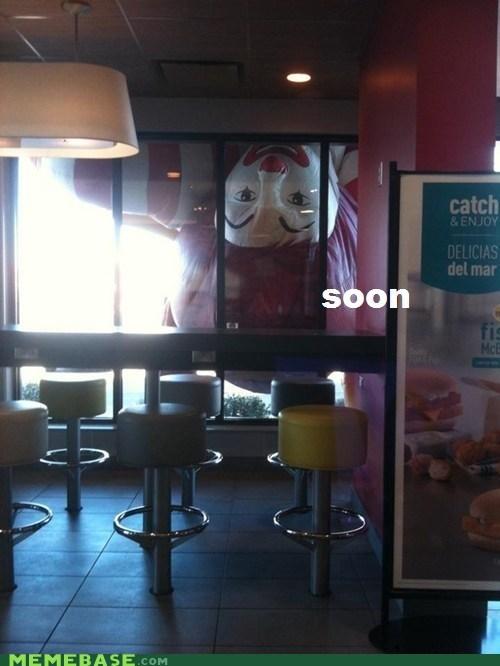 McDonald's,Ronald,SOON,terror