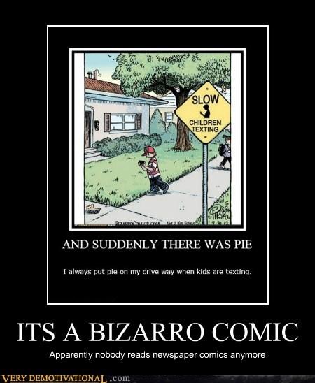 ITS A BIZARRO COMIC