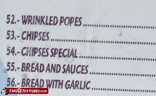 christian christianity menu pope restaurant