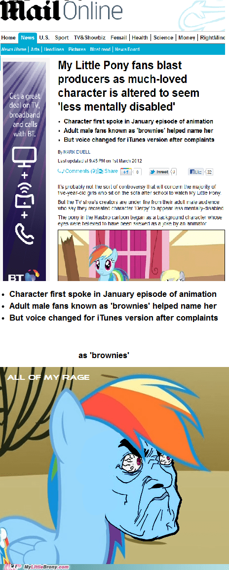 Bronies brownies derpy hooves IRL irl news my little pony - 5919941120
