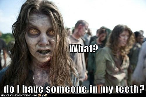 someone teeth undead The Walking Dead what zombie - 5920215040