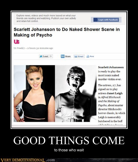 hitchcock psycho Pure Awesome scarlett johansson Sexy Ladies - 5920420864