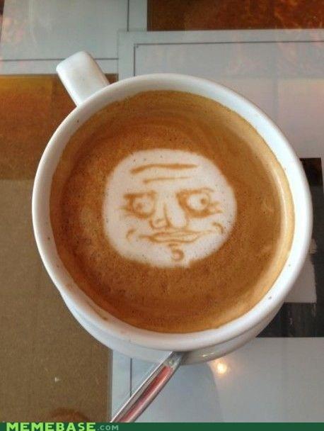 coffee foam latte me gusta swirl - 5920453376