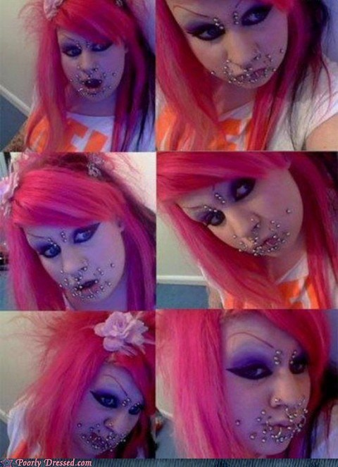 metal,metal mouth,mouth,piercing,piercings,scary