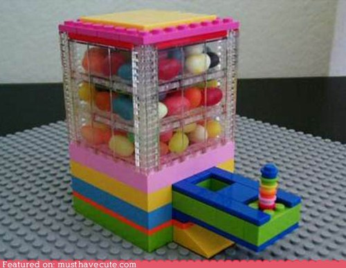 build candy container dispenser lego - 5920514048