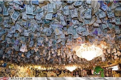 cash ceiling money Office - 5920693248