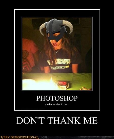 dont-thank-me fus ro dah hilarious Skyrim - 5920816128