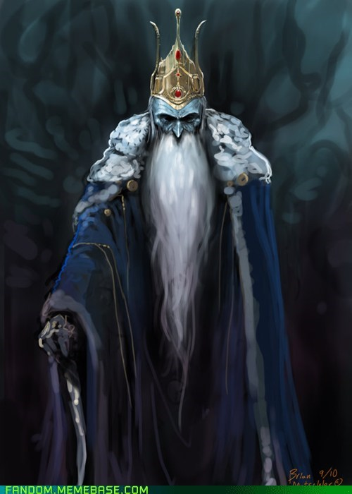 adventure time cartoons Fan Art ice king - 5920833280