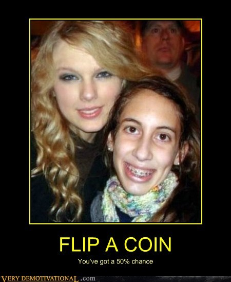 coin flip hilarious taylor swift wtf - 5921073408