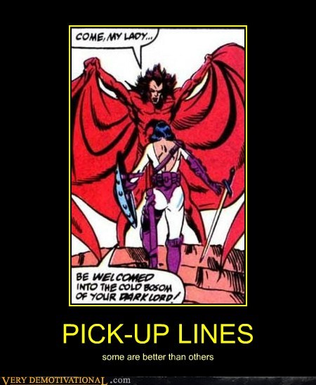 comics hilarious pick-up lines wtf - 5921117952